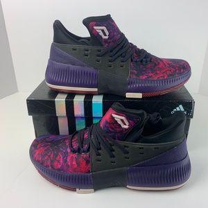Adidas Mens Dame 3 Rose City Damian Lillard NEW!!